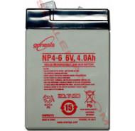 Batteri til HC tællevægt